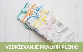 Vzdrževanje pralnih plenic